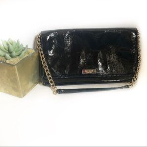 Kate Spade Black Patent Leather Handbag